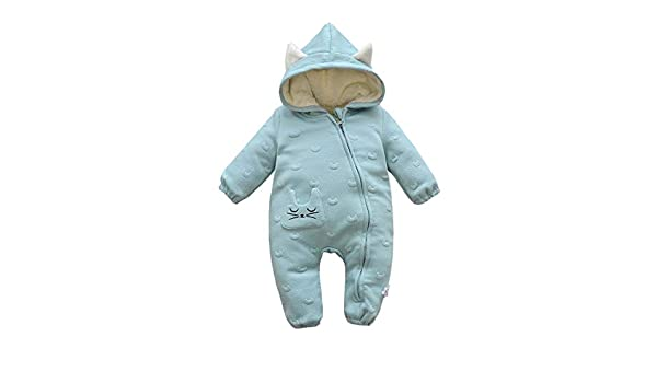 d7cca0ef2 Fairy Baby Toddler Boy Girls Hooded Romper Warm Thick Outwear ...