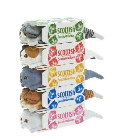 Scottish Fold Box Blind Figure product image