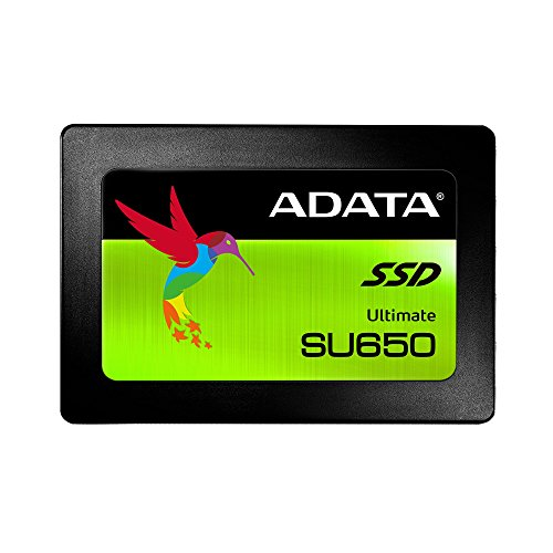 ADATA SU650 480GB 3D-NAND 2.5'' SATA III High Speed Read up to 520MB/s Internal Solid State Drive (ASU650SS-480GT-C) by ADATA