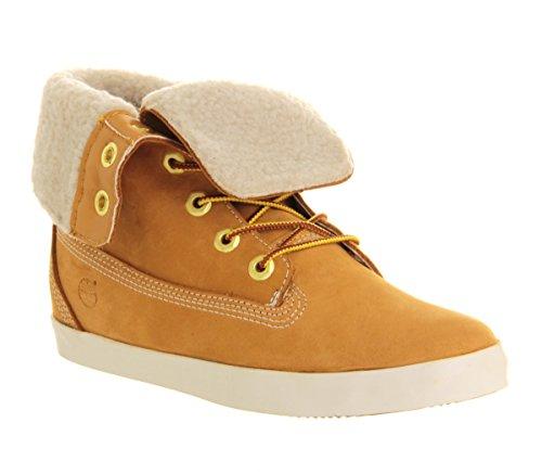 Timberland Glastenbury Fold Wheat Womens Boots Size 39 EU