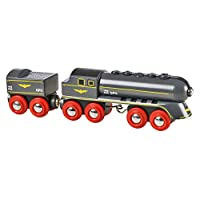 BRIO World - 33697 Speedy Bullet Train   2 Piece Train Toy for Kids Ages 3 and Up