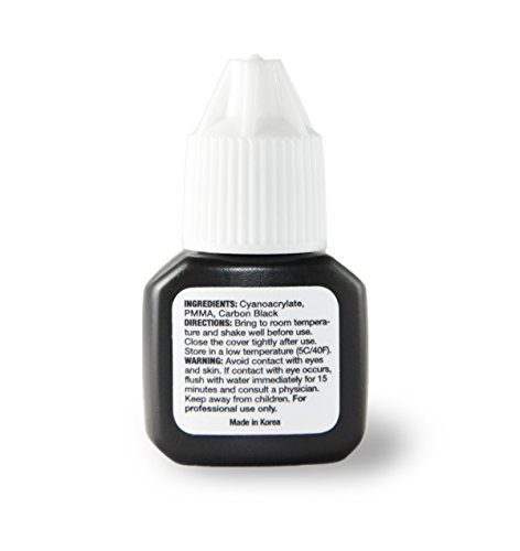 Eyelash Extension Glue Sensitive 8ml | Goldilok | Premium Medical Grade | Low Fume | Safe & Super Bonding Power | Long Lasting | From Korea by goldilok (Image #1)