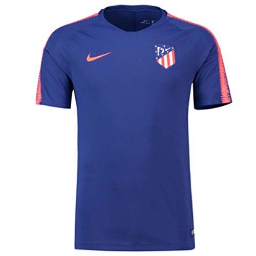 - Nike 2018-2019 Atletico Madrid Training Football Soccer T-Shirt Jersey (Royal Blue)