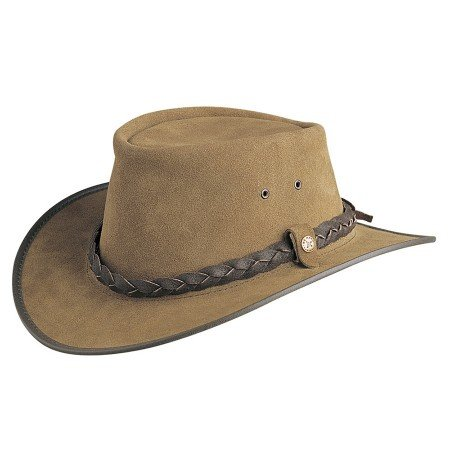 BC Hats Bac Pac Traveller Suede Australian Leather Hat