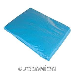 saxonica–Funda interior para piscina (300x 120cm–0,8mm azul redondo Platillos