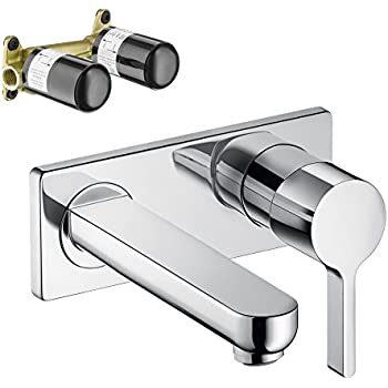 Hansgrohe KT31163-13622CR Metris S Wall-Mounted Single