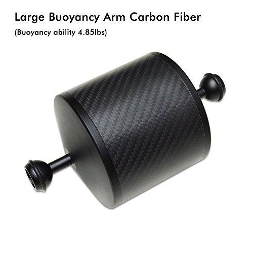 Ano Carbon Fiber Buoyancy Floating Arm Super Lightweight for Underwater Camera Tray Scuba Dive Video Lights
