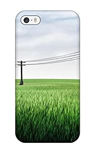 High-quality Durable Protection Case For Iphone 5/5s(power Lines Cgi)