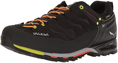 Salewa Men s Mountain Trainer GTX Alpine Trekking Shoe Alpine Climbing, Approach, Alpine Trekking Gore-Tex Waterproof Breathable, Vibram Sole, Durable Leather Upper