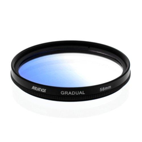 UPC 847295003183, Albinar 58mm Blue Graduated Gradual Color Filter