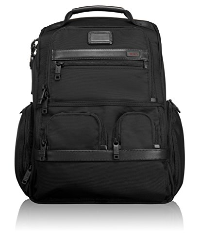 Tumi Alpha 2 Compact Laptop Brief Pack, Black, One Size by Tumi