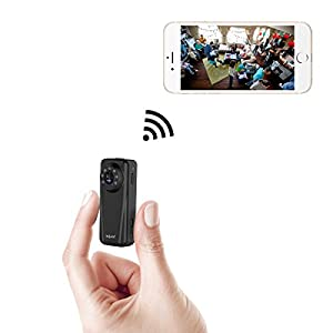 Mini IP Camera Hidden Camera 1080P HD Video Recorder Secret Camera Security Camera Car DVR, Night Vision Motion Detection Loop Record, for Security of House Store Car Office Factory, by INSMA