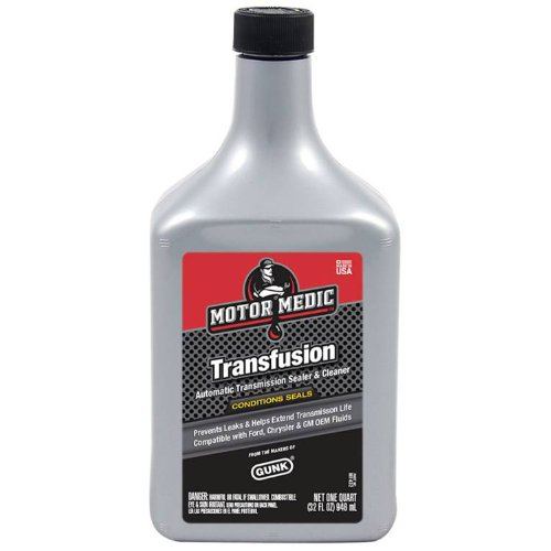 Motor Medic M1432-12PK Transfusion Automatic Transmission Sealer & Cleaner - 32 oz., (Case of 12) by MotorMedic