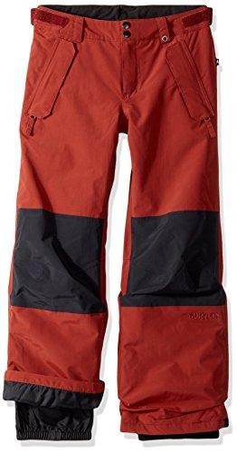Burton Boys Parkway Pants, Fired Brick/True Black, X-Large by Burton