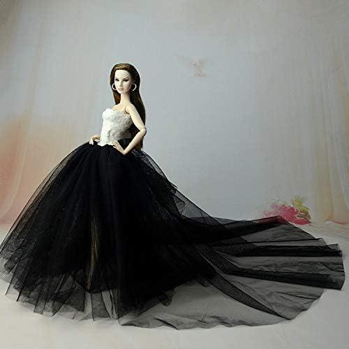 """V/êtements pour 29cm Poup/ée 3 Sets Jupe Tra/înante Princesse Soir/ée Robe de Mariage Robe Tenue pour 11,5/"""" Poup/ée Accessoires B/éb/é No/ël Cadeau"""