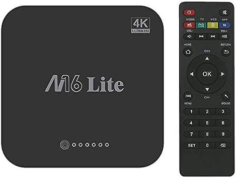 ACAMPTAR M16 Lite Android Inteligente Caja de TV 1G Ddr3 8G Emmc ...