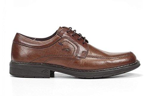 Fluchos 9482 Clipper / Brezza camel - Zapato de invierno con cordones, para hombre