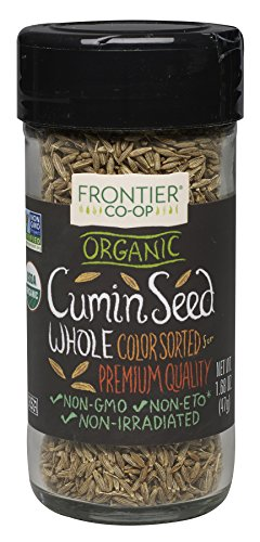Frontier Natural Products Cumin Seed, Og, Whole, 1.68-Ounce