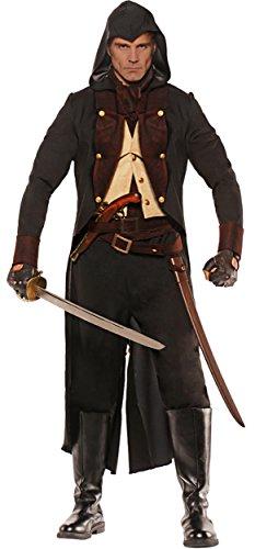 [UHC Men's Eliminator Outfit Medieval Theme Adult Fancy Dress Halloween Costume, XXL] (Superhero Costumes For Men Cheap)