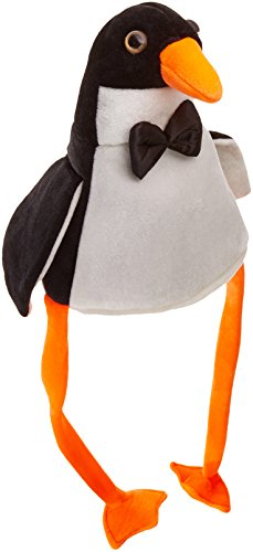 Beistle 20706 Plush Penguin Hat -