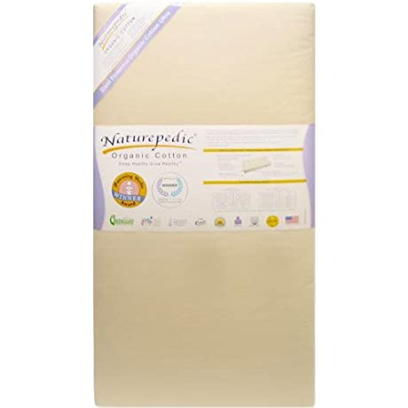 Naturepedic Organic Cotton Ultra 252 Seamless 2 Stage In Natural