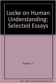 locke essays on human understanding