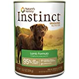 Nature's Variety Instinct Grain-Free Lamb Formula Canned Dog Food, 13.2 oz. Cans (Case of 12)