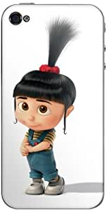 Zing Revolution MS-DMT310133 Despicable Me 2 - Agnes Cell Phone Cover Skin For iPhone 4/4S - Retail Packaging - Multicolored