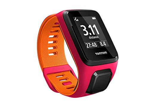 TomTom Runner 3 Small GPS Sports Watch, Color- Pink/Orange