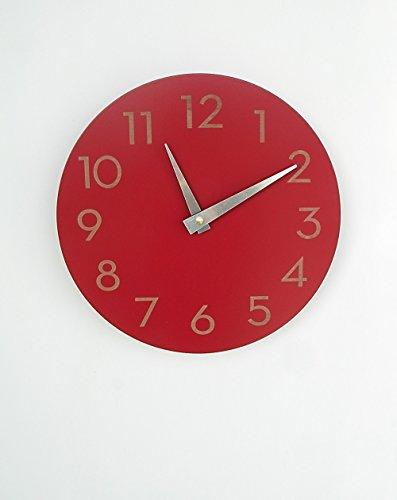 Modern Clock Uncommon Handmade Poppy product image
