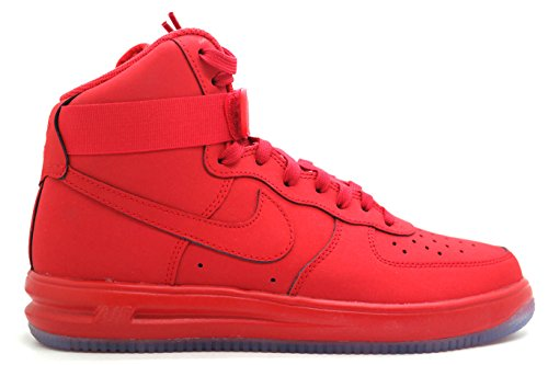 1 Hi Zapatillas Hombre Red Unvrsty Force De '14 Lunar Rojo clr Red Baloncesto Para Nike university qXxtEw