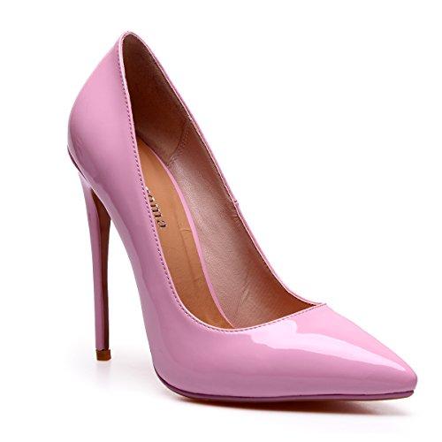 15 Zaproma Vaaleanpunainen Kengät Teräväkärkiset Toimivaltaiselle 4 Korkokenkiä Pumppuja Meitä Koko Naiset Ylellisyyttä Korkokengät qCvqrpw
