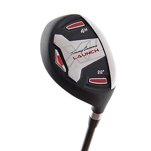 New Tommy Armour Launch XL TA-27 Hybrid #4 22 Uniflex Graphite RH +HC by Tommy Armour