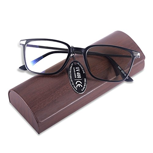 Yoosun Reading Glasses With Rectangle Tr90 Frame Block