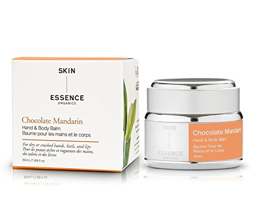 (Skin Essence Organics Chocolate Mandarin Hand and Body Balm, 50ml)