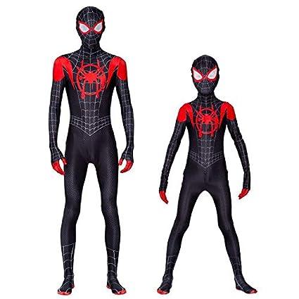 Diudiul Spiderman Traje de Superhéroe Traje Traje Cosplay ...