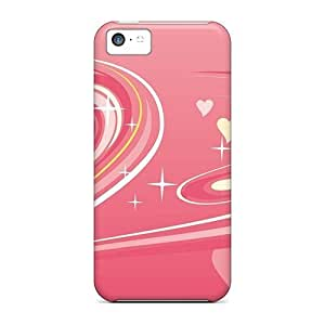Hot AZgdMmz1516WwSZr Case Cover Protector For Iphone 5c- Pink Love Pictures