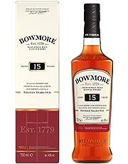 Bowmore 15 Years Old Single Malt Scotch Whisky, 700 ml