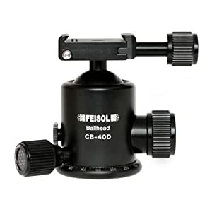 FEISOL CB-40D Ball Head QP-144750 with Quick Release Plate