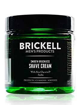Brickell Men s Smooth Brushless Shave Cream for Men   5 oz   Natural & Organic