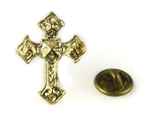 6030096-Christian-Cross-Lapel-Pins-Tie-Tack-Religious-Church-Worker-Volunteer-Pin