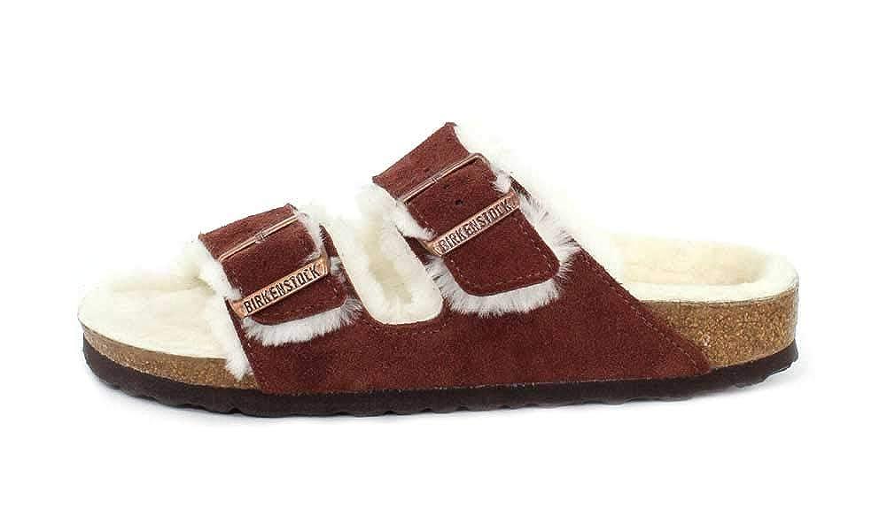 1806dc256 Amazon.com | Birkenstock Womens Daytona Fur Sandal | Mules & Clogs