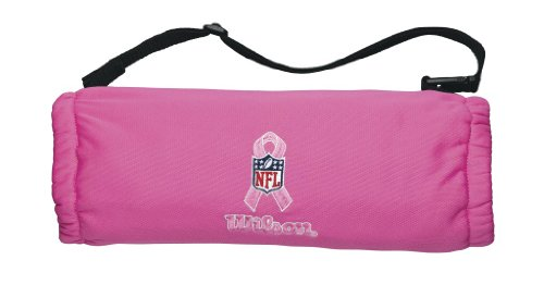Wilson Youth Hand Warmer with Nfl Bca Logo (Pink)
