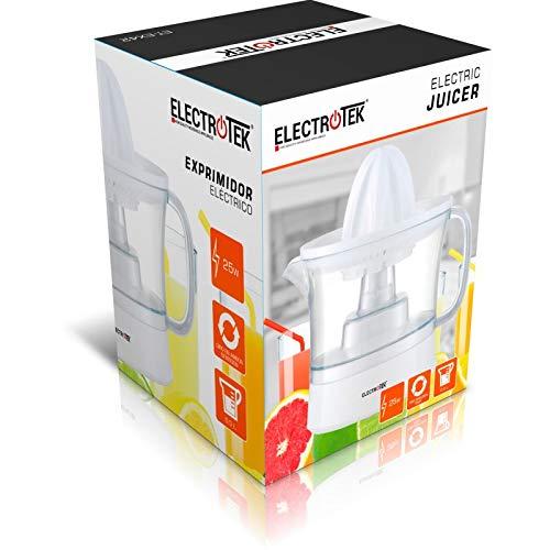 Exprimidor eléctrico 25W, jarra 0.5L. ELECTROTEK ET-EX50: Amazon.es: Hogar