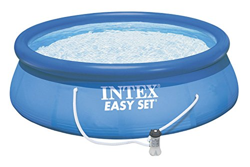Intex 28167EH 15-Foot X 48-Inch Blue Easy Set Pool Set by Intex