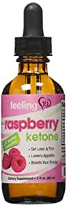Raspberry Ketones Liquid - All-Natural Diet Drops For Weight Loss Proven To Work For All Body Types. 98% Absorption, 3 Times Faster Than Capsules. Includes Full 30-Day Supply