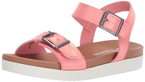 Orange Girls Sandals - NINA Girls' jacklin3 Sandal Coral 13 Medium US Little Kid
