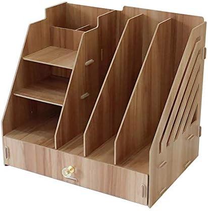 Mumusuki Desktop Schubladen Typ Datei Regal Magazin Buch Datei Stand Organizer Datei Sortierer Office Home Desk Aufbewahrungsbox