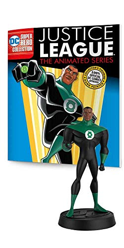 (Eaglemoss DC Super Hero Collection: Justice League The Animated Series: #03 Green Lantern Figurine, Multicolor,)