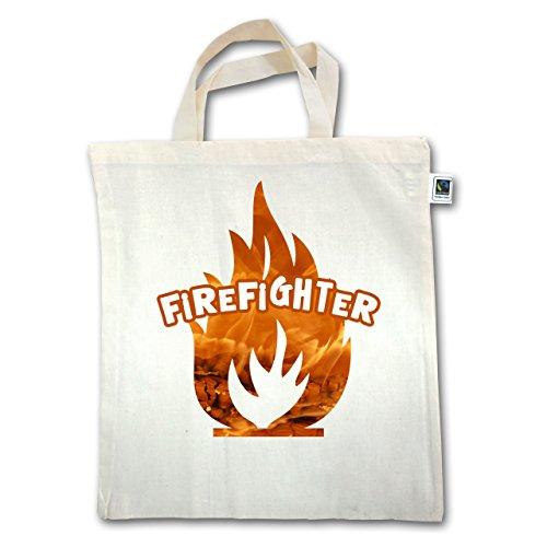 Pompiere - Fire Fiammeggiante Pompiere - Unisize - Natural - Xt500 - Manico Corto In Juta